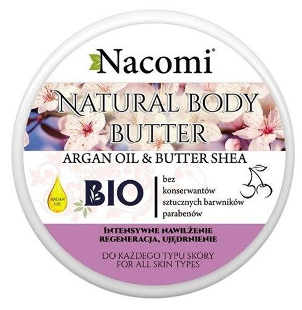 Nacomi Naturalny balsam do ciała z masłem Shea i wiśnią 200ml