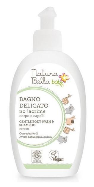 Natura Bella Baby Delikatny płyn do kąpieli i szampon NO TEARS 300ml