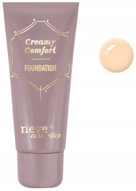 Neve Cosmetics Creamy Comfort Podkład mineralny w kremie Light Warm 30ml