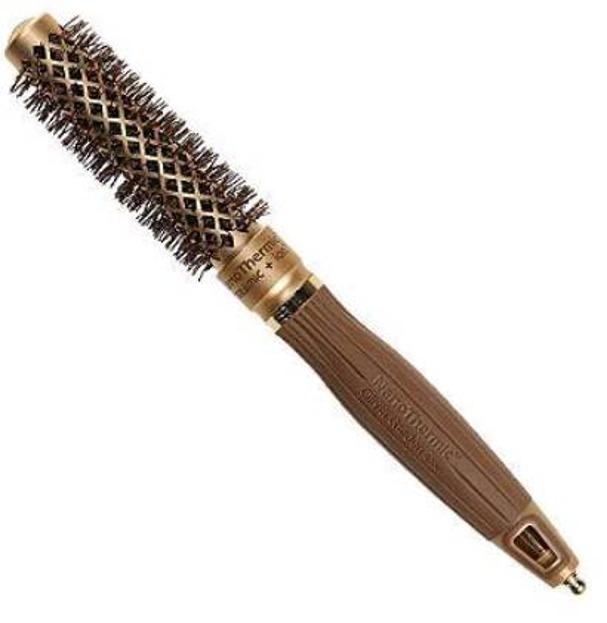 Olivia Garden Szczotka do włosów Nanothermic18mm gold/brown