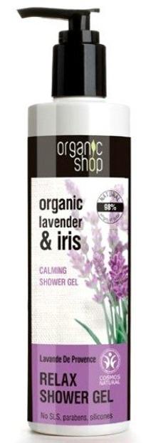 Organic Shop - Relaksujący żel pod prysznic Lawenda Prowansji 280 ml
