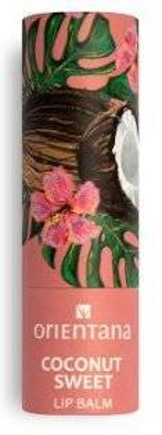 Orientana Coconut Sweet Naturalny balsam do ust 4,2g