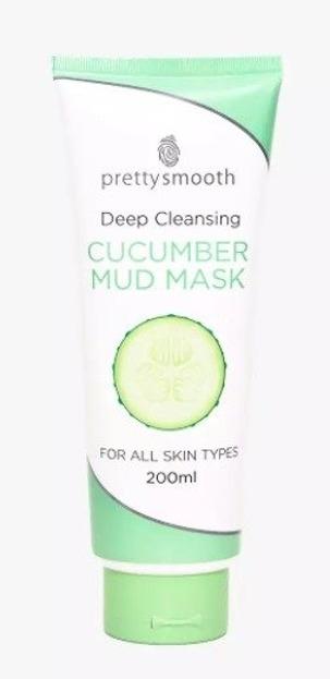 Pretty Mud Mask Cucumber Głęboko oczyszczająca maska do twarzy 198ml