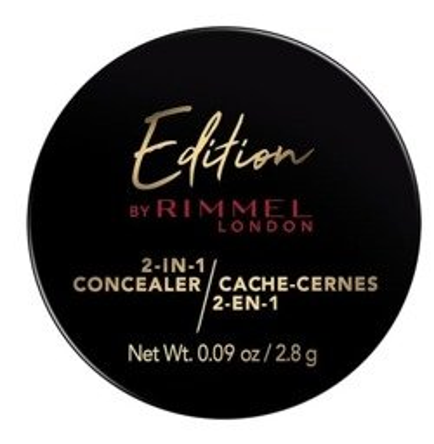 Rimmel Edition 2in1 Concealer Korektor i puder utrwalający 130 light medium 2,8g