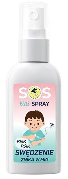 SOS Kids Spray łagodzący po ugryzieniu komara 40ml