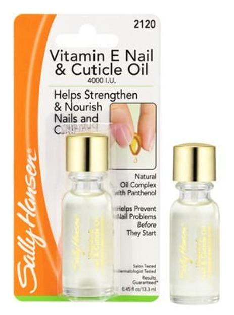 Sally Hansen Vitamin E Nail Cuticle Oil - Oliwka do pielęgnacji paznokci