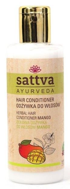Sattva Odżywka ziołowa do włosów Mango 210ml