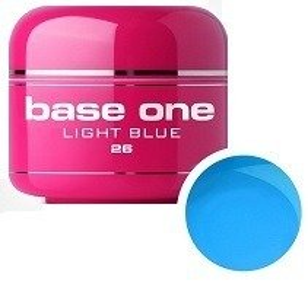 Silcare Base One 26 Light Blue Żel kolorowy 5g
