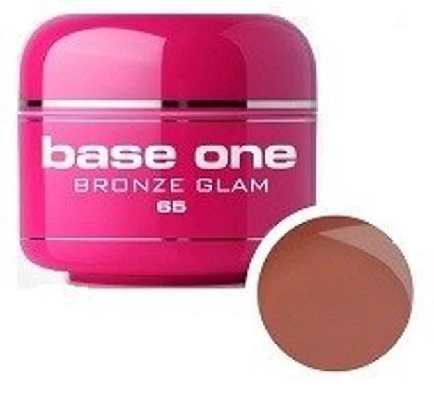 Silcare Base One 65 Bronze Glam Żel kolorowy 5g