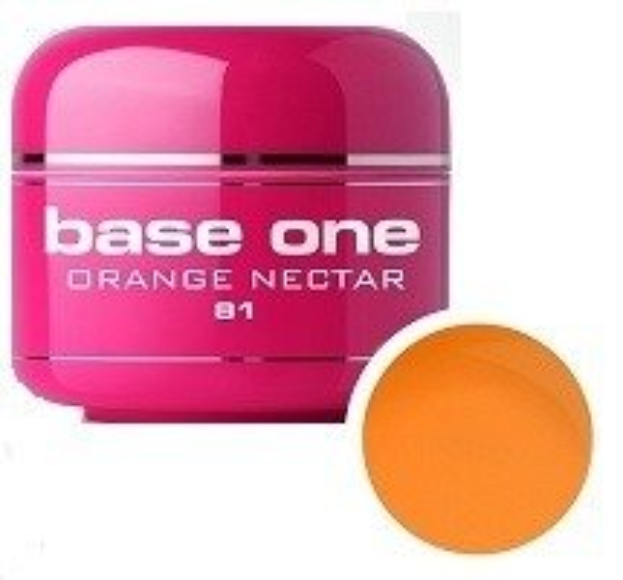 Silcare Base One 81 Orange Nectar Tree Żel kolorowy 5g