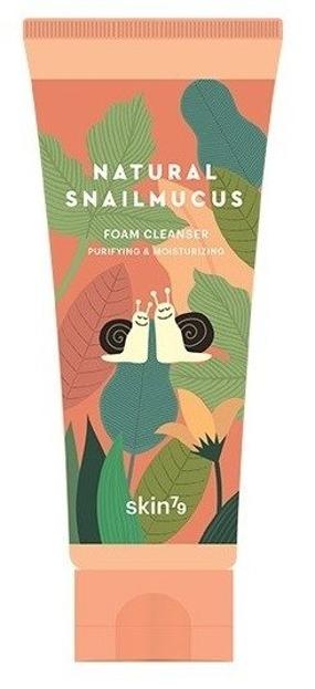 Skin79 Natural Snail Mucus Foam Cleanser Pianka oczyszczająca ze śluzem ślimaka 150ml
