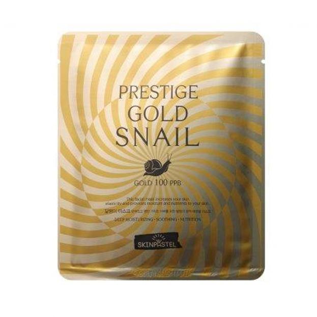 SkinPastel Gold Snail Maska do twarzy w płachcie 25ml