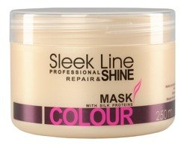 Stapiz Sleek Line Colour - Maska regenerująca do włosów farbowanych, 250 ml