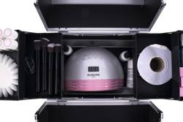 SunOne Kuferek Kosmetyczny M wzorek 01