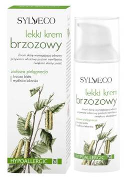 Sylveco Lekki krem brzozowy, 50 ml