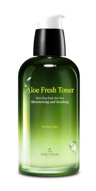 THE SKIN HOUSE Aloe Fresh Toner Aloesowy tonik do twarzy i dekoltu 130ml