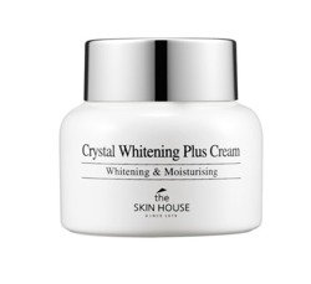 THE SKIN HOUSE Crystal Whitening Plus Cream Krem rozjaśniający do twarzy i dekoltu 50ml