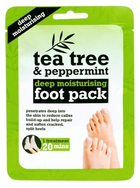 Tea Tree Foot pack Nawilżające skarpetki do stóp