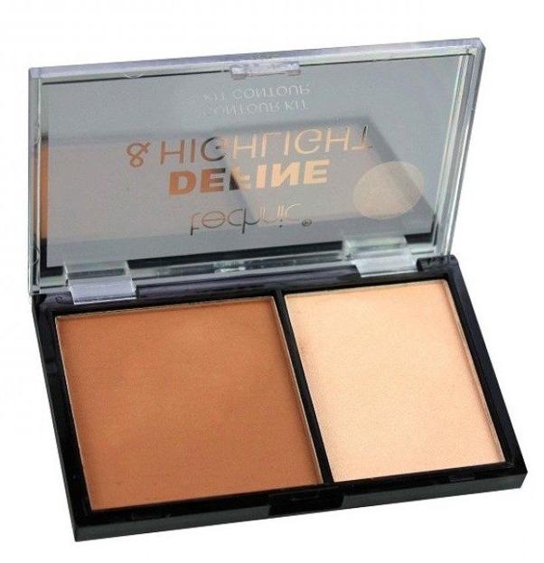 Technic Define&Highlight Contour Kit Paleta pudrów do konturowania twarzy Caramel