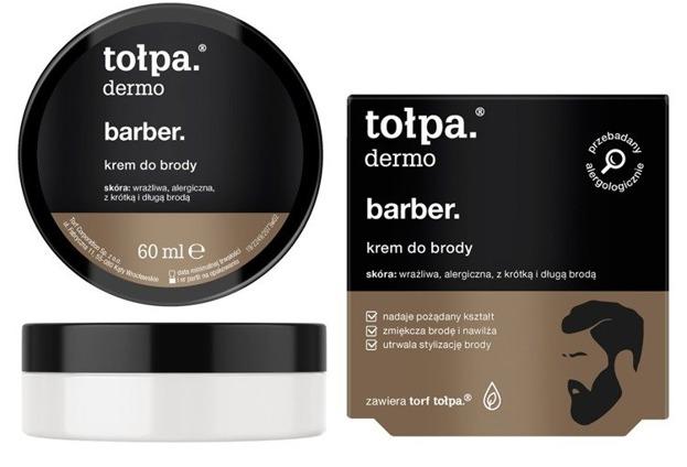 Tołpa Dermo MEN Barber Krem do brody 50ml