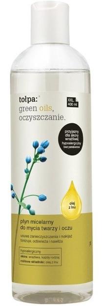 Tołpa Green Oils Oczyszczanie Płyn micelarny do mycia twarzy i oczu 400ml