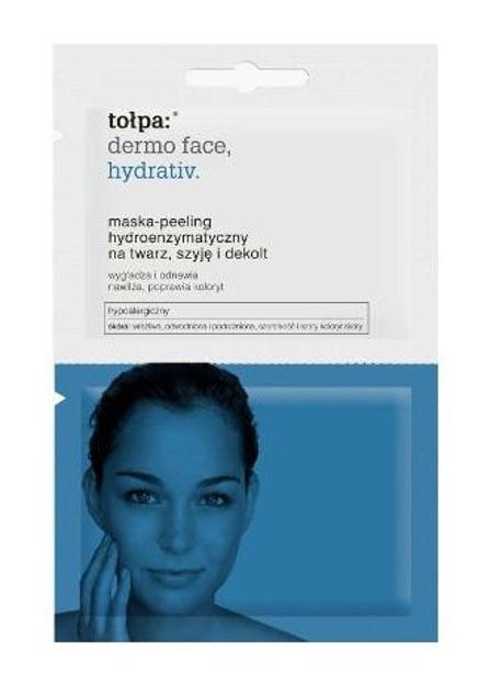Tołpa HYDRATIV Maska- peeling hydroenzymatyczny na twarz, szyję i dekolt