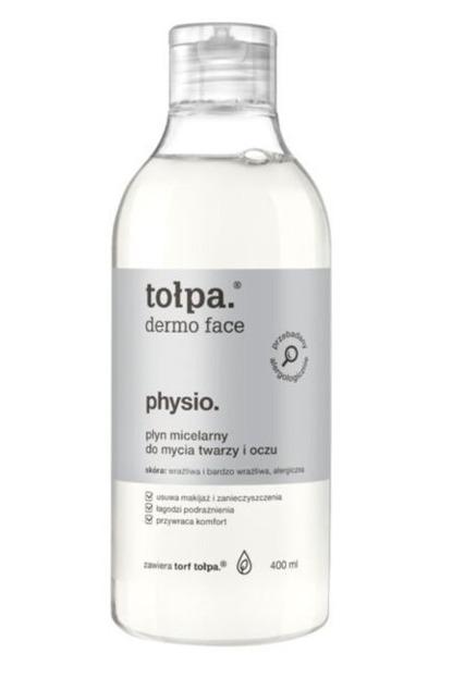 Tołpa Physio -Płyn micelarny do mycia twarzy i oczu 400 ml XXL