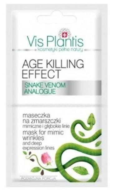 Vis Plantis Age Killing Effect Maseczka na zmarszczki mimiczne i głębokie linie 2x5ml