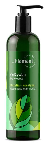Vis Plantis Basil Element Odżywka wzmacniająca przeciw wypadaniu włosów 500ml