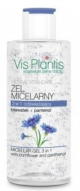Vis Plantis Żel Micelarny 3w1 Bławatek&Panthenol 150 ml