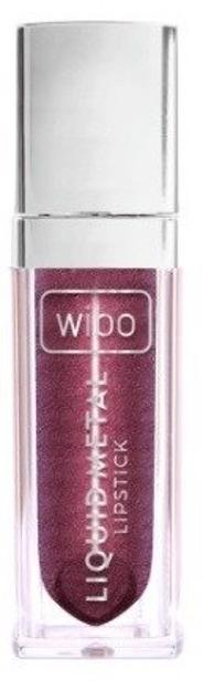 Wibo Liquid Metal Lipstick Metaliczna pomadka do ust 4 Burgundy Wine