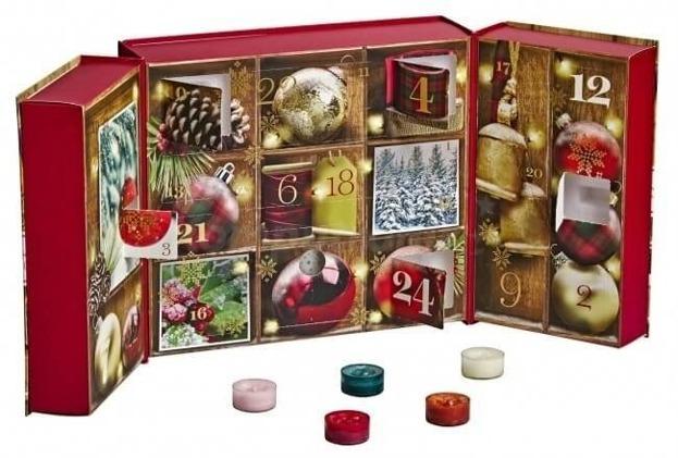 Yankee Candle Kalendarz Adwentowy Alpine Christmas Książka
