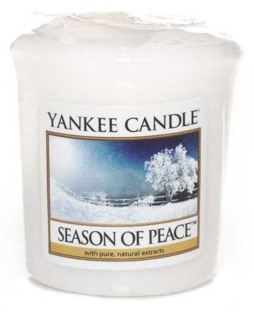 Yankee Candle Sampler Świeca Season Of Peace 49g