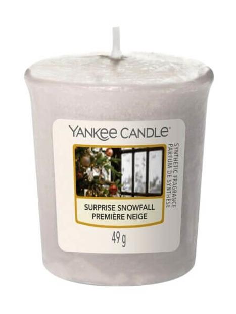 Yankee Candle Sampler Świeca Surprise Snowfall 49g