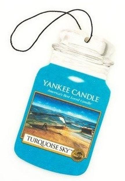 Yankee Candle car jar Odświeżacz samochodowy Turquoise Sky 1szt.