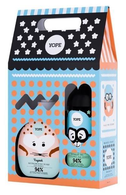 Yope Zestaw Dziecięcy Mydło nagietek + żel rumianek/pokrzywa