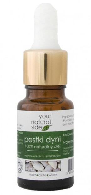 Your Natural Side Olej z pestek dyni nierafinowany Pipeta 10ml