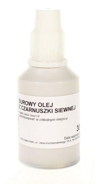 ZSK Surowy olej z czarnuszki siewnej, 30 ml