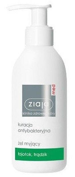 Ziaja Med  Kuracja antybakteryjna - żel myjący, 200 ml