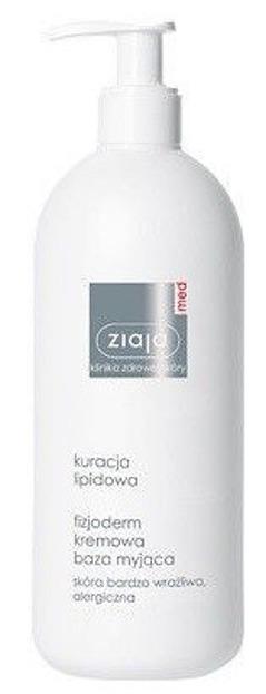 Ziaja Med, Kuracja lipidowa - kremowa baza myjąca, 400 ml