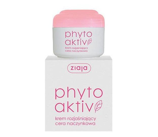 Ziaja Phyto Activ - krem rozjaśniający cera naczynkowa, 50 ml