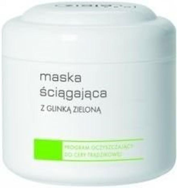 Ziaja Pro- Maska ściągająca z glinką zieloną - 250 ml