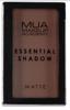 MUA Essential Shadow matte Pojedynczy cień do powiek Pecan 2,4g